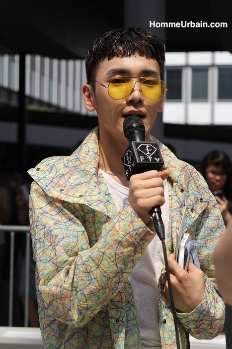 Key du groupe SHINee au défilé Issey Miyake Men | Le blog mode de l'homme urbain | Scoop.it