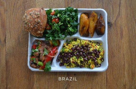 En images : le déjeuner moyen des écoliers à travers le monde | Food and Beverage Market | Scoop.it