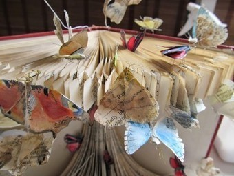 Bookmarking Book Art - The MBAE and Metamorphosis | Books On Books | Scoop.it