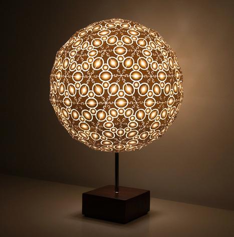 Robert Debbane's 3D-printed lamps | D_sign | Scoop.it