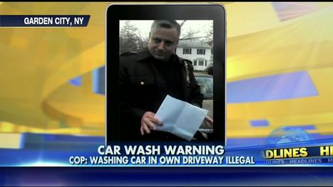 Police Threaten Man for Washing Car in His Own Driveway - Eagle Rising | Restore America | Scoop.it