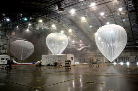 "Google Is Testing Its Internet Balloons in a Huge Freezer | WIRED | L'impresa ""mobile"" 