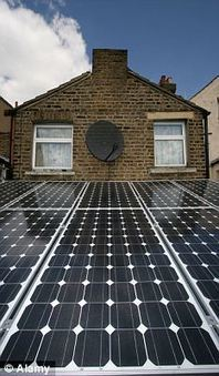 Home owners to be paid for generating their own electricity through solar panels and wind turbines   No Place Like Home   Scoop.it