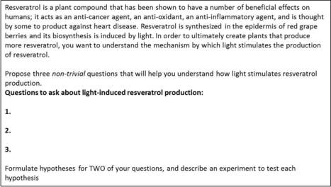 How to get thoughtful responses to exam questions?   Plant Biology Teaching Resources (Higher Education)   Scoop.it