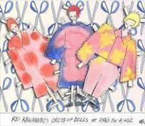 Rei Kawakubo's Dress-up Dolls at Paris A/W12 | AnOther | COMME des | Scoop.it