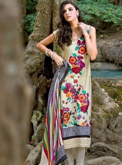 Lovely Summer Lawn Style 2013 For Girls   smartinstep.com   Scoop.it