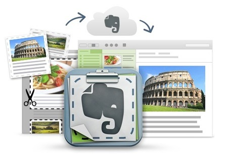 Clip Any Web Page, Text or Link and Organize Into Collections with Evernote WebClipper | Moodle and Web 2.0 | Scoop.it