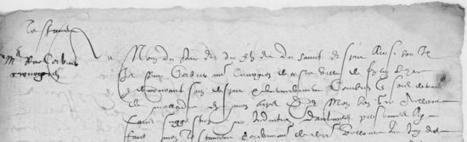 1591, testament d'un chirurgien de Fontenay-le-Comte | Rhit Genealogie | Scoop.it
