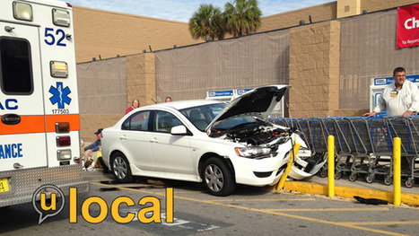 """5 hit by car at Florida Walmart, suffered minor injuries; driver likely had """"medical issue"""" 