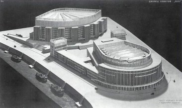 Der Palast der Sowjets: Entries by German architects to the PALACE of the Soviets competition | The Architecture of the City | Scoop.it