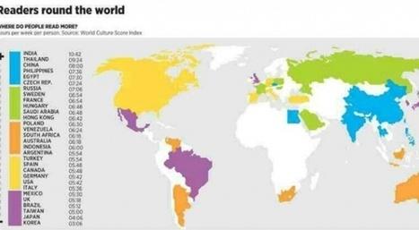 L'Inde est le pays où on lit le plus | Slate | Actu des livres numériques | Scoop.it