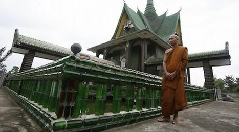 This Thai temple is built from one million recycled bottles | Oil and Gas | Scoop.it