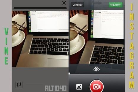 Comparativa entre Instagram y Vine: Principales diferencias | Eskola  Digitala | Scoop.it