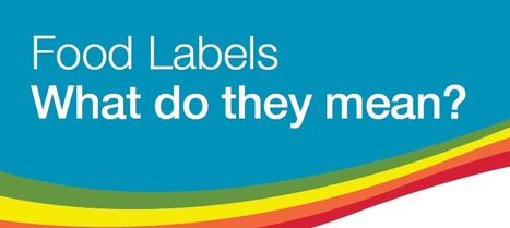 Interactive labelling poster - how to read food labels | Food Technologies- Creating a Healthy Lifestyle through Understanding Food Production and Preparation. | Scoop.it