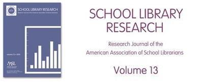 School Library Research (SLR) Volume 13 | American Association of School Librarians (AASL) | Middle School information seekers | Scoop.it