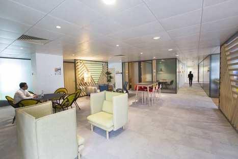 Au siège de Danone,après sa mutation en «flex office» | Nouveaux lieux, nouveaux apprentissages | Scoop.it