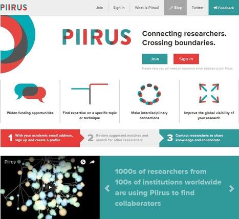 Piirus – connecting researchers | transmedia-et-education | Scoop.it