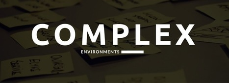 How to innovate in complex environments? - Board of Innovation | NPO's, charity and digital humanitarianism, | Scoop.it