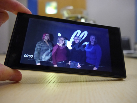 """Hands On With Jolla's First Phone — The """"Spearhead Device"""" For Its MeeGo-Successor Sailfish OS 