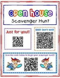 iPad Activity: Open House Scavenger Hunt using QR Codes | Literacy Using Web 2.0 | Scoop.it