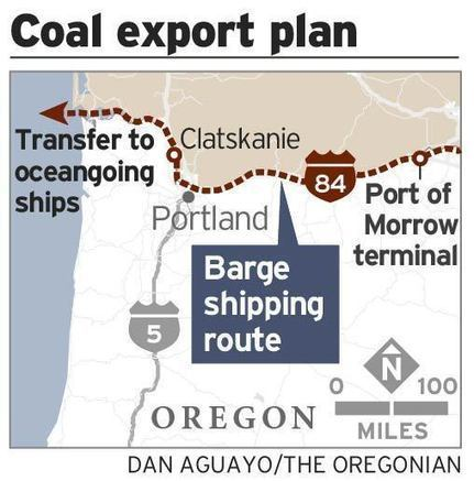 Oregon regulators issue first draft permits for coal export from the Northwest | Columbia Basin Salmon News | Scoop.it