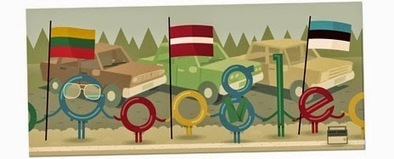 25th Anniversary of the Baltic Way - Google Doodle - Doodle 4 Google Today | SEO Traffic Engine | Scoop.it