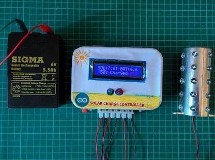 Design News - Gadget Freak - Gadget Freak Case #260: Arduino Solar Charge Controller | Arduino, Netduino, Rasperry Pi! | Scoop.it