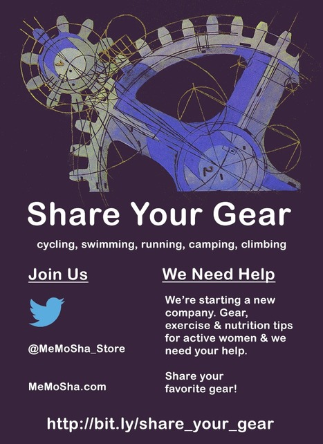 Help A Startup - Share Your Favorite Gear via @MeMoSha_Store | Startup Revolution | Scoop.it