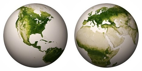 Map of the Earth's Vegetation - GIS Lounge | AgInterest | Scoop.it