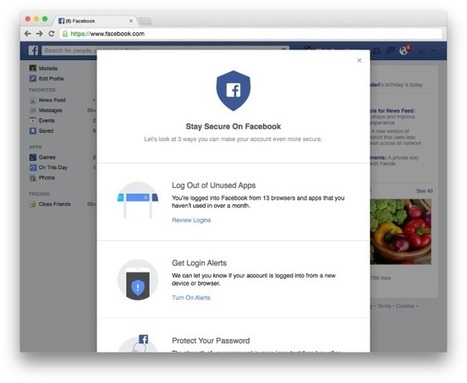Facebook Security Checkup is Here | MarketingHits | Scoop.it
