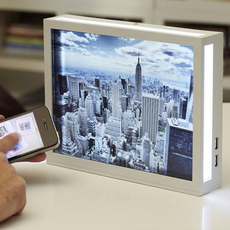 Smart Digital Photo Frame - Well Done Stuff ! | Diseños y Soluciones | Scoop.it