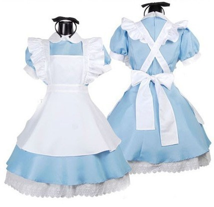 Sky Blue Alice in Wonderland Sweet Lolita Dress Costume - Favorbuying.com | Personalized Clothing | Scoop.it