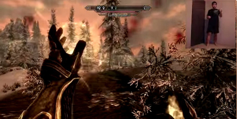 Kinect Skyrim | KINECT APPS - GAMES | Scoop.it
