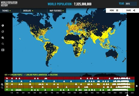 Where are the world's population hot-spots? | Navigate | Scoop.it