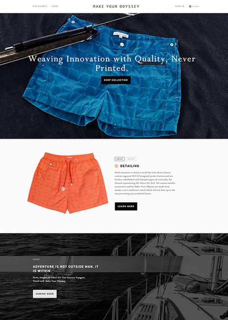 Flat Websites Design – 26 New Examples | elearning stuff | Scoop.it