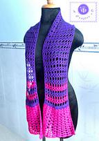 Culotte scarf pattern by Maz Kwok | FREE Crochet Patterns | Scoop.it