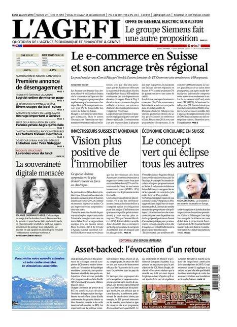 Le e-commerce en Suisse et son ancrage très régional - AGEFI.com (Abonnement)   Salons   Scoop.it