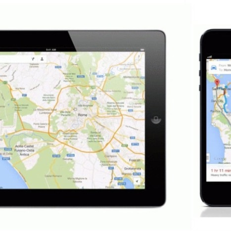 Google Maps 2.0 for iOS Launches With iPad Support and Indoor Maps - Mashable.com | Charge Point | Scoop.it