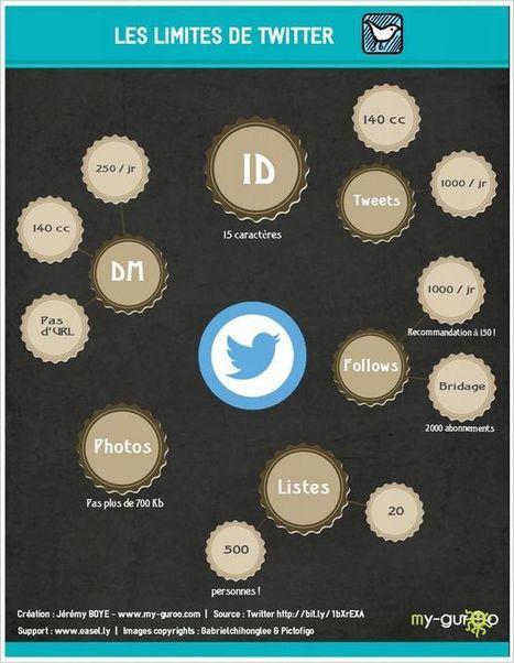 Quelles sont vos 10 limites sur Twitter   Communication   Scoop.it
