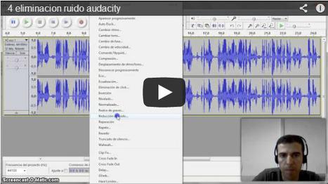 Audacity para editar música y voz   Recursos para Podcast y Rss   Scoop.it