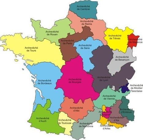 En 1748 l'évêché de Belley appartenait à l'archevêché de Besançon | Racines de l'Art | Scoop.it