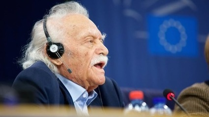 "Manolis Glezos denounces Greek loan agreement as ""illusion"" 