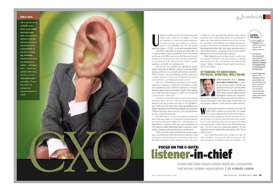 C-suite, hospital leadership, patient satisfaction, patient experience, CXO | Age in Place and Elder Advocacy | Scoop.it
