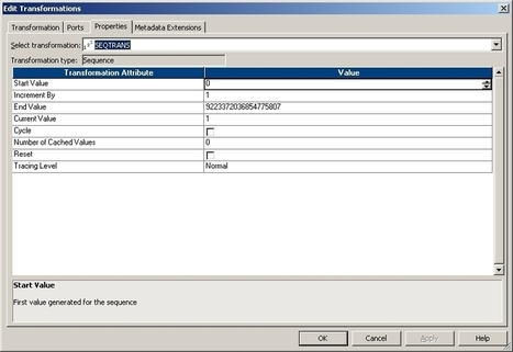 Steps to add Sequence generator in informatica mapping | fifa2014 | Scoop.it
