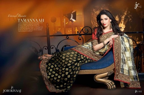 Tamanna in Traditional Indian Saree Photoshoot wearing Joh Rivaaj's Saree, Actress, Indian Fashion, Tollywood | Indian Fashion Updates | Scoop.it