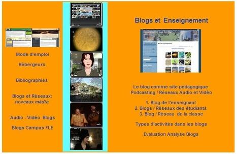Weblogs, Réseaux, Médias, Education, Web 2.0, Blog, Apprentissage, FLE | éducation_langues_tic_tice_fle | Scoop.it