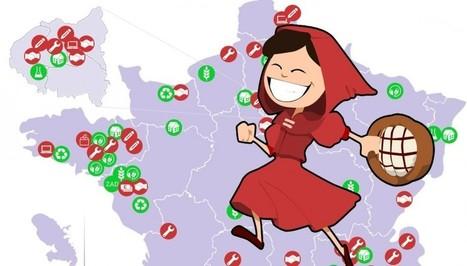 Voici la carte de France des alternatives local... | Start-Up | High-Tech | Scoop.it