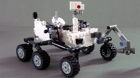 Curiosity Rover en Lego ! | Actualité robotique | Scoop.it