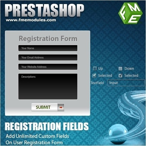 PrestaShop Customer Registration Attributes plug-in by FMEModules | Tips to Improve E-Commerce Business through PresaShop | Scoop.it
