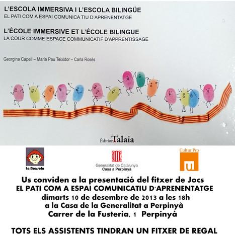 Presentació a la Casa de la Generalitat de Perpinyà - VilaWeb | Actualitat educativa. Seminari. | Scoop.it